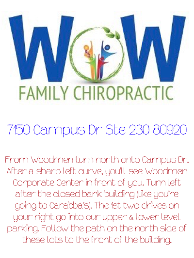 Directions to Wow Family Chiropractic